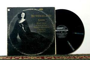 Joan-Sutherland-Sings-Verdi-1969-LP-Opera-Legend-EX-Vinyl