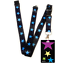 High-quality-ID-badge-holder-RAINBOW-STARS-amp-Secure-Lanyard-neck-strap-soft thumbnail 57