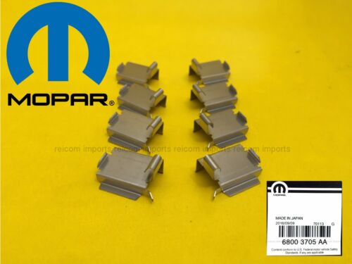 4 OEM MOPAR Brake Pad Retaining Clips FOR ALL 4 WHEELS Anti Noise Jeep Liberty