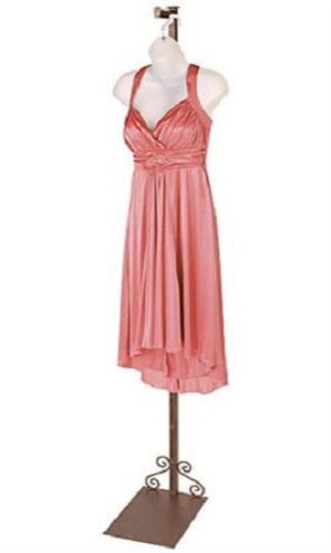 """Finial Costumer Clothing Display Clothes Copper Butler Valet Garment 72/"""""""