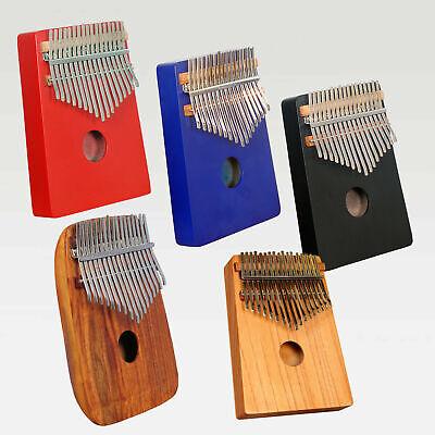 KIMI Kalimba 17 Key Thumb Piano Acryl Kristallklar für Musikliebhaber mit Etui
