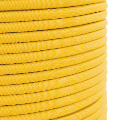 Generous Yellow Elasticated Bungee Shock Cord Rope For Tying Down Tarpaulin General Use B Marine Rope Boat Parts