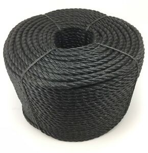 Black-3-Strand-Polypropylene-Poly-Rope-8mm-10mm-and-12mm-Cheap-Nylon-Twisted