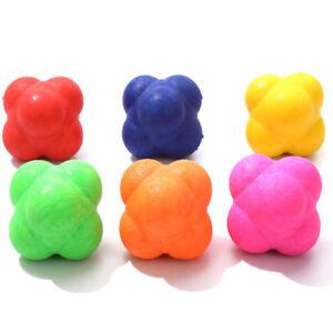 Sport-Palla-a-sfera-esagonale-Reazione-palla-agile-Verso-palle-di-allename-CRIT