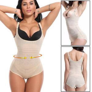 c584750d59 Image is loading Women-Top-Seamless-Full-Tummy-Control-Body-Shaper-