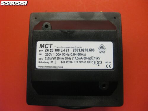 Zündtrafo Zündtransformator MCT ZA20100LH21 ersetzt ZA20100E1 ELCO ZA 20 100 LH