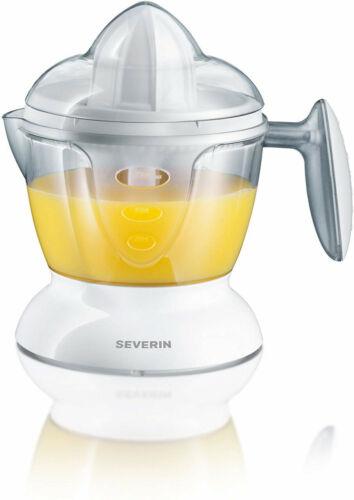 1x Severin cp3536 citruspresse 25 W, con 2 presskegel, 750 ml di volume Bianco