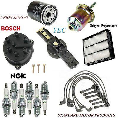 Tune Up Kit Cap Rotor Filter Plug Wire Set FIT Mitsubishi ...