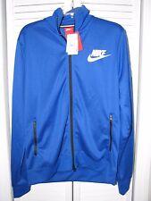 Nike Tribute Track Jacket Royal Blue / White Men's Size Large NWT! Sample