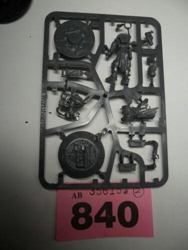 Warhammer 40k sarcófagos de plástico culto genestealer nexos en sprue R840