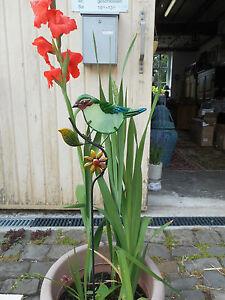 Décoratif Jardin Connecteur En Fer Et Verre-afficher Le Titre D'origine Suppression De L'Obstruction