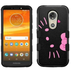 quality design 27c69 fd240 Details about for Motorola Moto E5 Plus/E5 Suprae Armor Impact Case Hello  Kitty #BP