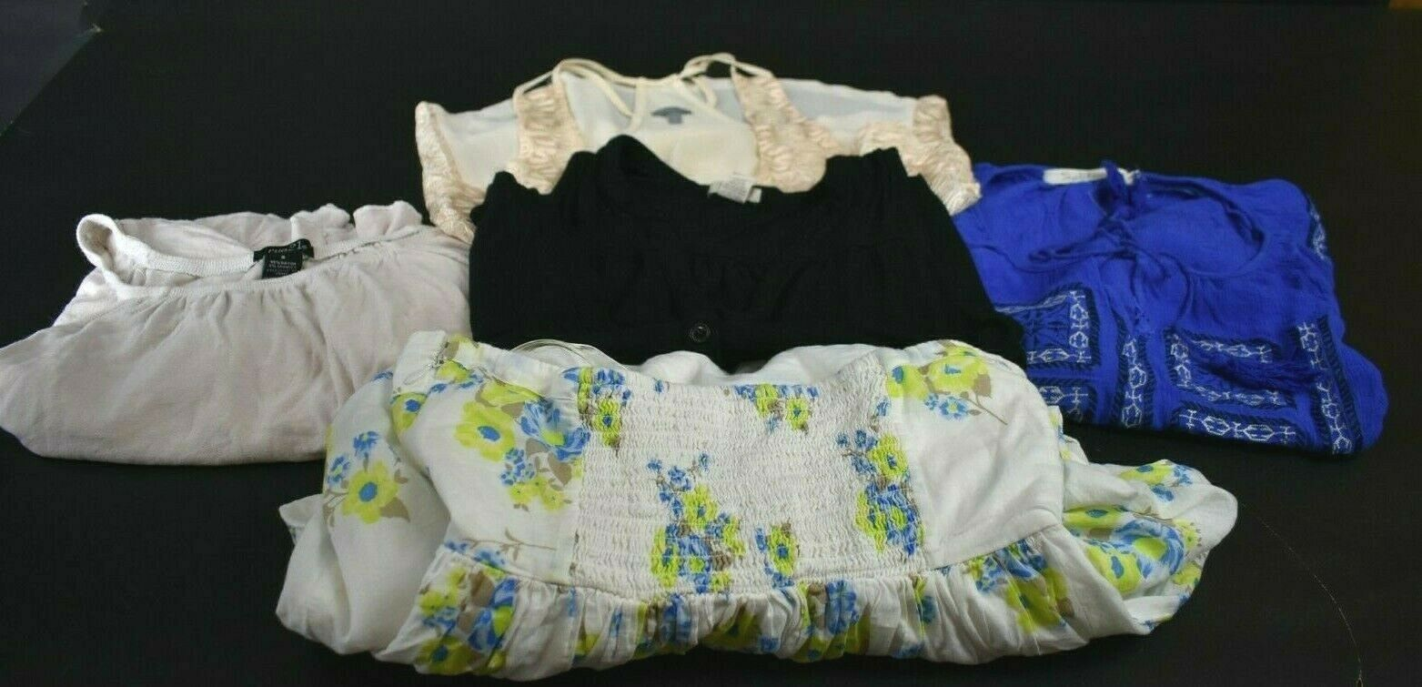 Lot of 5 Old Navy Solitaire Rue 21 Charlotte Russe Women's Small Tank Top Dress