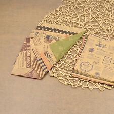 DIY Origami Chiyogami Papier Vintage Zweiseitig Handarbeit Kunst Basteln 60x