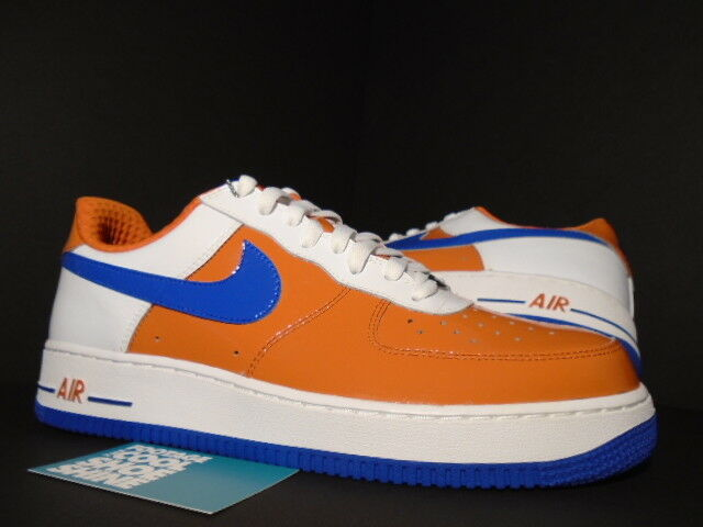 2006 Nike Air Force 1 Premium HOLLAND NETHERLANDS WORLD CUP ORANGE blanc Bleu 11