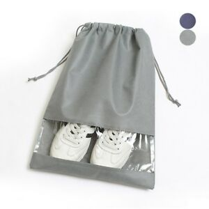 Shoes-Clear-Storage-Bag-Waterproof-Drawsing-Bag-Sandals-Boots-Dust-Cover-Travel