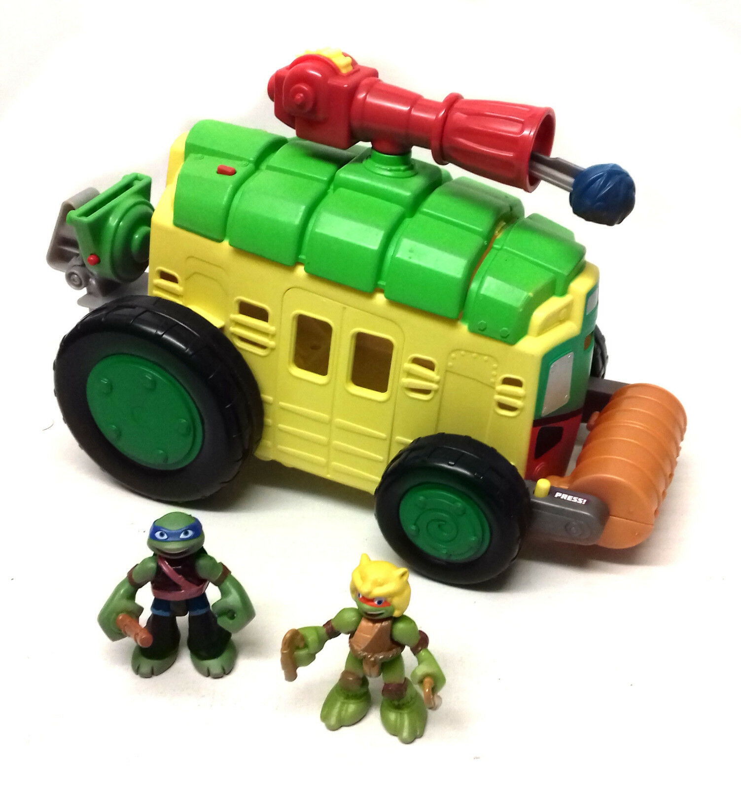TMNT Turtles Half Shell Heroes Shell Raiser Vehicle Vehicle Vehicle Playset with Figure set 982fd6
