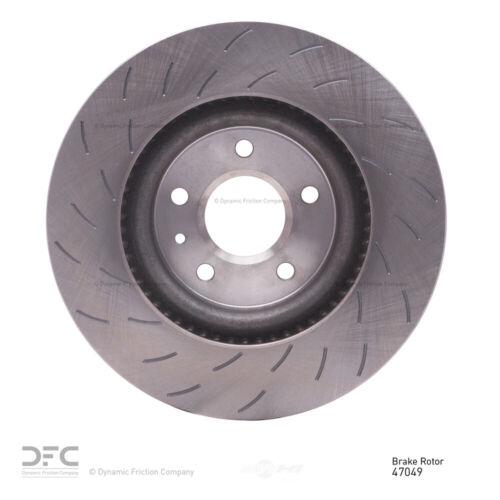 Disc Brake Rotor-Brake Rotor Slotted Front DFC fits 14-19 Chevrolet Corvette