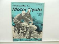 October 1962 MOTORCYCLE Magazine Royal Enfield Interceptor Constellation L8135