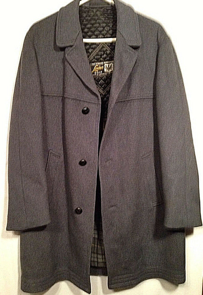 Herren German Made Loden Coat By Lodenfrey Munich A Genuine Import46-48