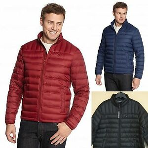 Details about TOMMY HILFIGER BIG & TALL MEN'S PACKABLE DOWN JACKET COAT LIGHTWEIGHT PUFFER NEW