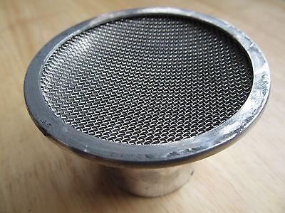 "Alloy Bell  1 3//4/"" inc  filter to fit  376 monobloc ariel,bsa,triumph,norton"