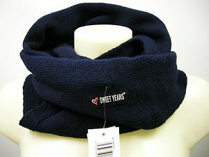 Scaldacollo-sciarpa-scarf-SWEET-YEARS-art-MS1494-col-34-navy-Italy