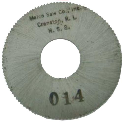 "1 1//2/"" Dia .014/"" Wide 1//2/"" Hole 110 Teeth Circular Slotting Saw Blade High Speed"