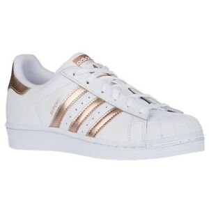 Cheap Adidas Superstar White Light Blue Gold Metallic DTLR