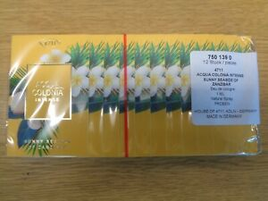 LADIES PERFUME SAMPLES VIALS ACQUA COLONIA 4711 INTENSE SUNNY SEASIDE OF ZANZIBA