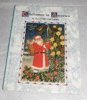 Christmas America 1700s 1800s Around World Book Hc 2007 Santa Claus St Nicholas
