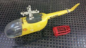Hélicoptère de sauvetage Big Jim - Mattel Original Vintage des années 80