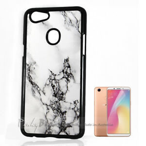 best service a1ef8 27848 For Oppo A73 ) Back Case Cover P11207 Marble Pattern | eBay