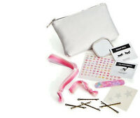 Prom Dance Costume Macy's Emergency Kit 10 Piece Silver Makeup Bag Sealed