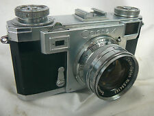 Vintage Zeiss Contax IIa Rangefinder Camera & Zeiss Sonnar 50mm F2 lens