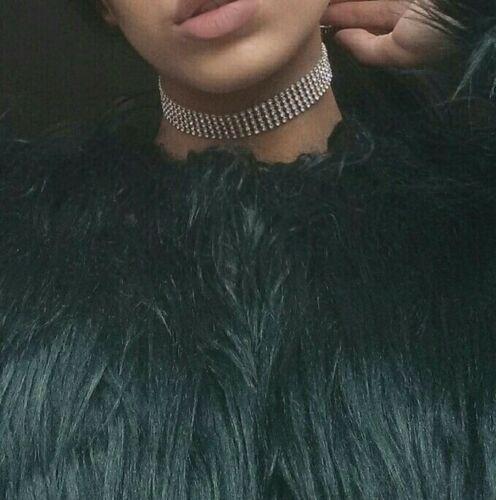 Choker Fashion Women Full Diamond Rhinestone Crystal Necklace Wedding Jewelry