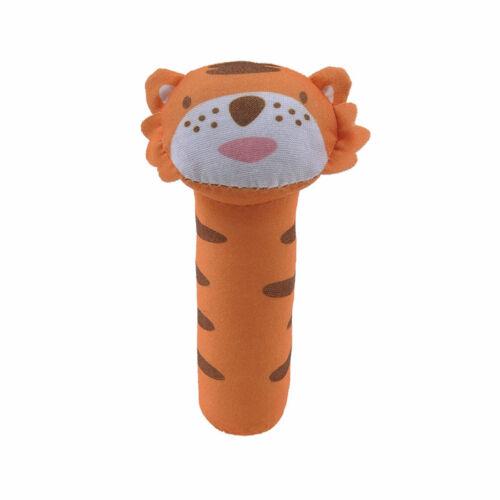 Monkey Baby Plush Toy Newborn Infant Hand Rattle Stick Soft Animal Doll Kid Toys