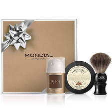 Mondial Shaving Gift Pack Nº908-II Luxury Mens Shave Cream Aftershave Gel Badger