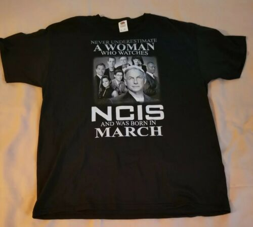 Never Underestimate A Woman Who Watches NCIS And W