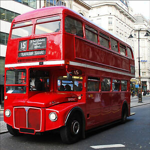 sticker d co bus anglais londres r f 538 16 dimensions ebay. Black Bedroom Furniture Sets. Home Design Ideas