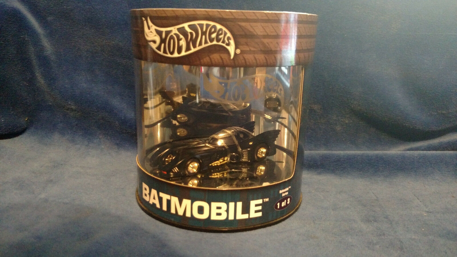 2004 Hot Wheels Batimóvil Set Completo De 3 Coches de edición limitada de petróleo