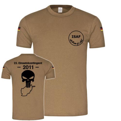 ISAF 22 Einsatzkontigent KUNDUZ TASK FORCE Auslandseinsatz BW Tropenshirt#20076