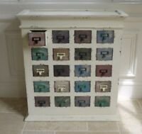 Vintage Shabby Chic Style,multi Colour Drawer,retro Chest Of Drawers