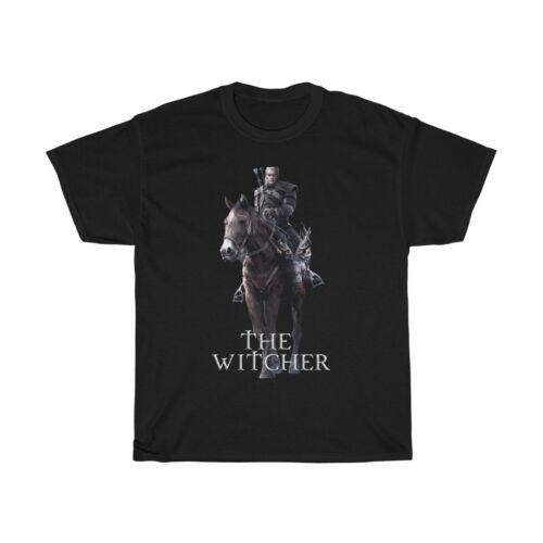 The Witcher Henry Cavill Geralt of Rivia pile ou face à votre Witcher Unisexe Tee
