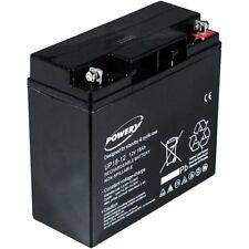 Powery Batterie Gel Plomb 12V 7,2Ah, 12V, Lead Acid