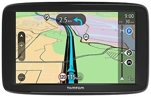 TomTom-Start-62-M-Lifetime-Maps-XXXL-EU-IQ-TMC-Fahrspur-amp-Parkassist-Tap-amp-Go