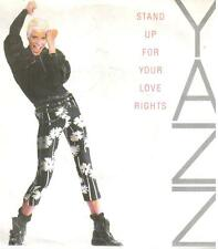 "<3648-11> 7"" Single: Yazz - Stand Up For Your Love Rights"