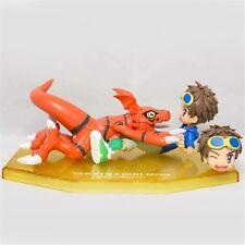 Anime Digimon Tamers Matsuda Takato Guilmon PVC Figure New In Box