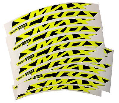 Adesivi cerchi 29 CROSSMAX ELITE mtb fluo  - adesivi/adhesives/stickers/decal