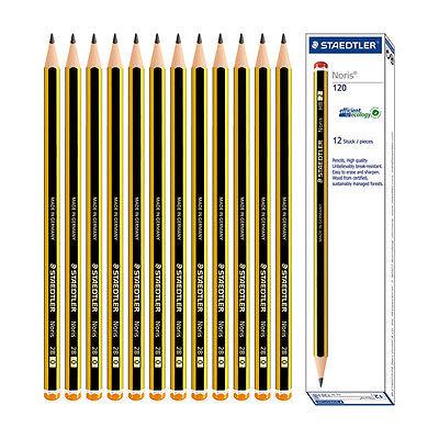 STAEDTLER Noris ® B Pencils 120 Norris School Drawing Sketching 12 Pencil 1 Box